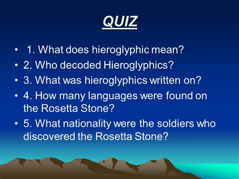 Rosetta Stone How Many Languages | hieroglyphics the ancient egyptian writing is called