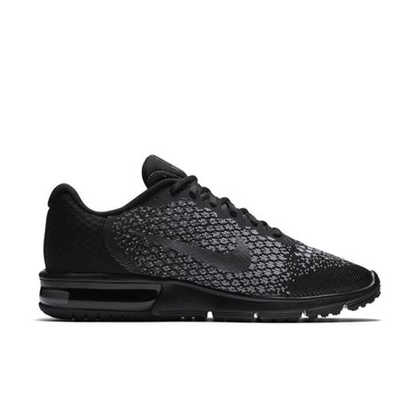 Nike Air Max Sequent 2 852461 001 Running Black Grey 1 basket nike air max sequent 2 852461 001 noir noir
