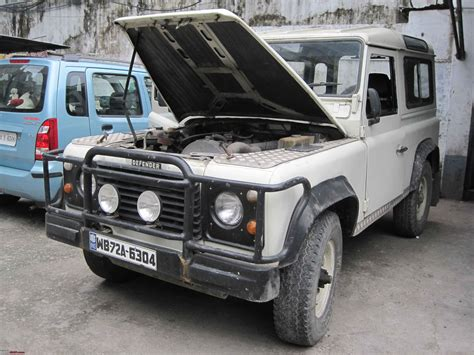 Defender Jeep Land Rover Defender 90 Quot Go Beyond Quot Jeep Captain Team Bhp