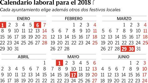 Calendario 2018 Con Festivos Galicia Tendr 225 Un Festivo M 225 S En El 2018 Pero Las Horas