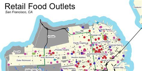 san francisco food map improving access to fresh food across san francisco spur