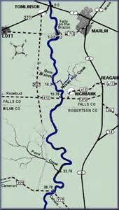 map of brazos river in brazos river