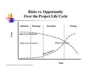 risk and opportunity management plan template project management risks review