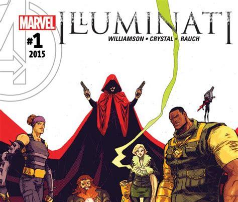 marvel illuminati illuminati 2015 1 comics marvel