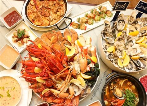 marriott cafe seafood extravaganza buffet with over 50