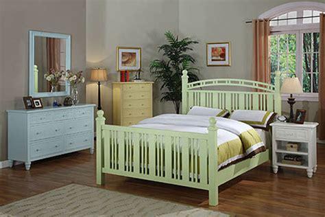painting wicker bedroom furniture oceanside painted bedroom suite by seawinds trading