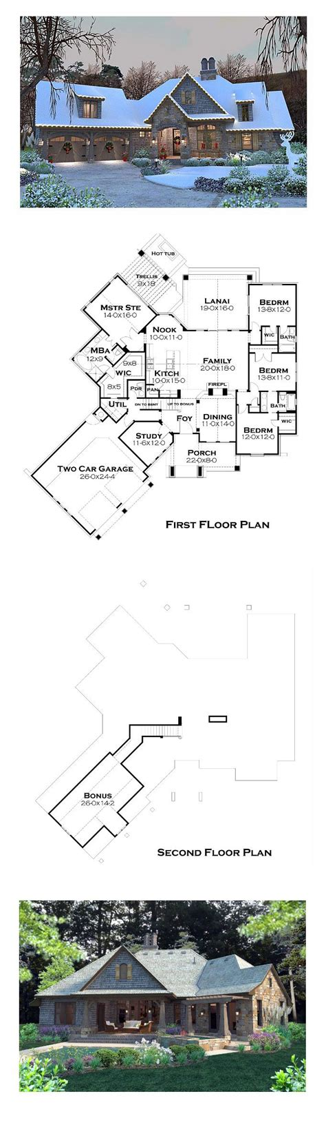 best selling floor plans best selling house plan 75134 total living area 2482 sq