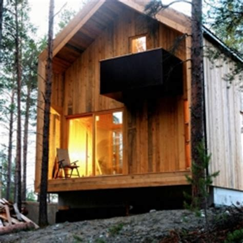 Simple Home Interiors in a norwegian wood lies this beautiful house built for a
