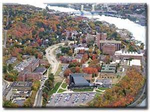 Michigan Tech Campus Map by Thomas Oommen Dept Geol Amp Mining Eng Amp Science