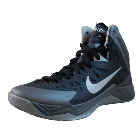 nike and black basketball shoes nike mens zoom hyperquickness black basketball shoes ebay