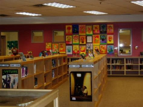 stapley junior high 187 library