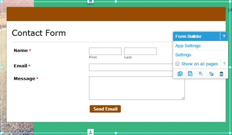 how to publish online forms on wix 123formbuilder