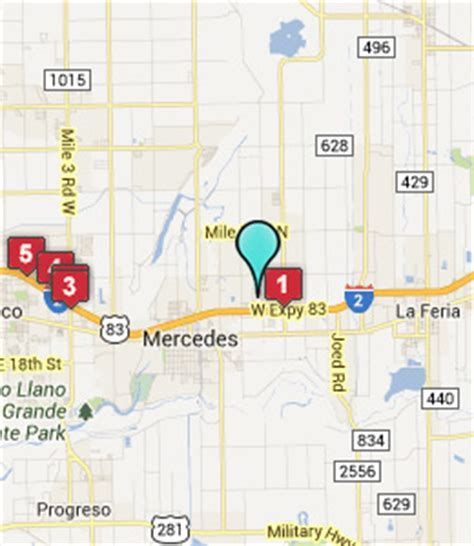 map of mercedes texas hotels near grande valley premium outlets mercedes tx