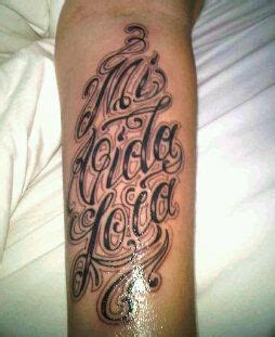 my new tattoo mi vida loca my crazy life and my mommy