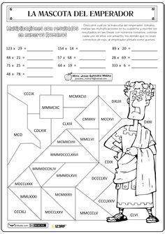 la tabla del 3 en numeros romanos actividades numeros romanos primaria para imprimir