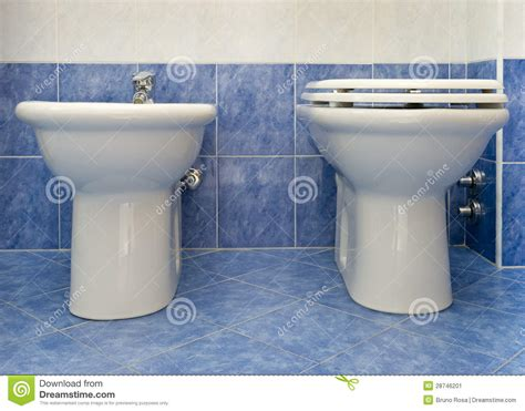 Water Closet With Bidet The Water Closet And Bidet Stock Image Image 28746201