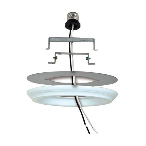 convert pendant light to recessed light epic recessed lighting pendant converter kit 71 in