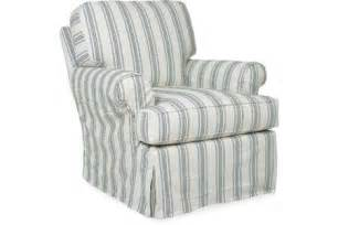 Slipcovered Glider Chair Cr Laine Chair 3415 Sc Slipcovered Chair Home Decor