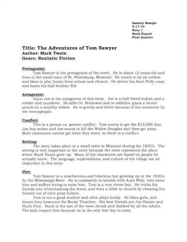 book report  book reports