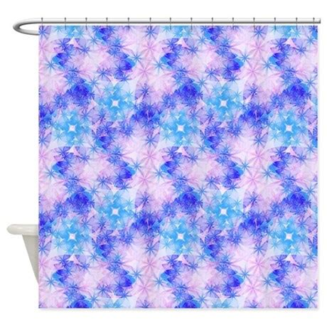 pink and purple shower curtain cute pink blue purple pattern 3 shower curtain by