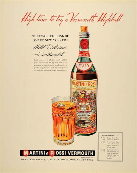 martini and rossi ad martini rossi vermouth vintage ad martini vermouth