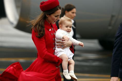 prince william and kate middleton in dunedin new zealand kate middleton prince william and baby george arrive in