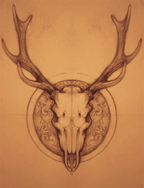 deer skull tattoo deer skull search results calendar 2015