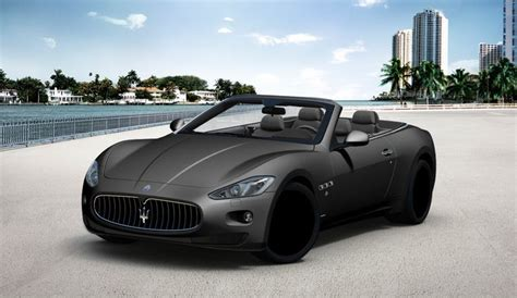 matte black maserati convertible pin by adrian albi 241 ana viudes on maserati pinterest