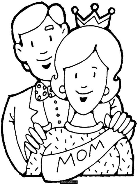 honor your father and mother coloring page www imgkid