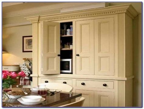 Kitchen Pantry Cabinets Free Standing   Cabinet : Home