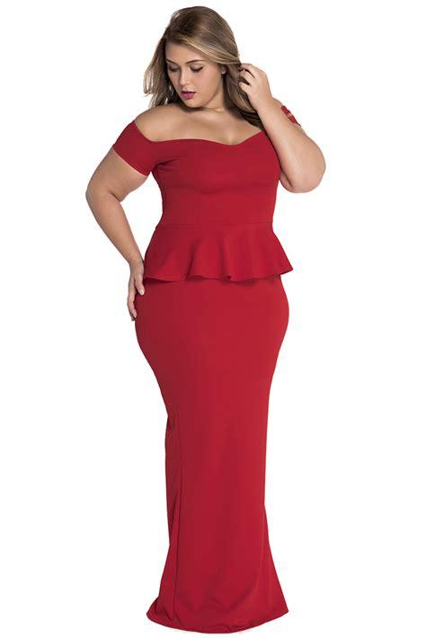 Nasjmi Flowery Peplum Maxi Dress peplum maxi dress with drop shoulder