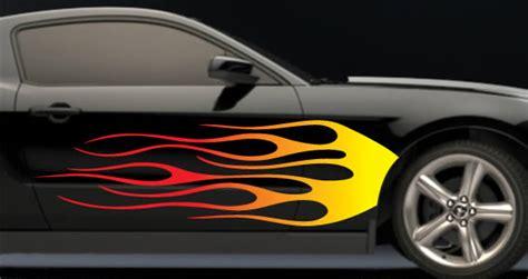 3d Flammen Aufkleber by Flames Car Decals Dezign With A Z