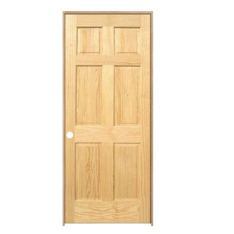 home depot solid core interior door main door 30 in x 80 in pro collection 6 panel solid