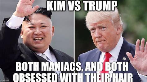 Kim And Trump Memes - image tagged in kim jong un donald trump imgflip