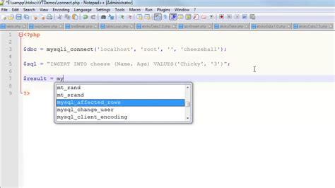 Insert Into Table Mysql by Insert Into Mysql Database Table With Php Debugging Tips