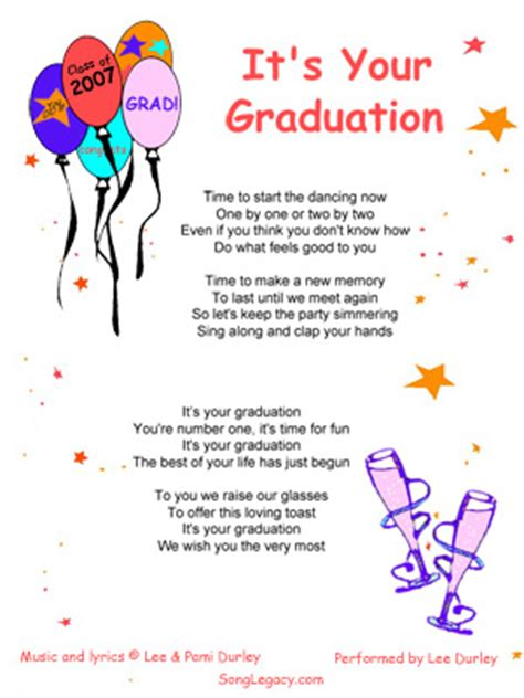 songs for daughters graduation video song quotes for graduation quotesgram
