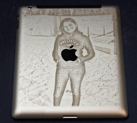 engraved on photo engraved on in a flash laser laser