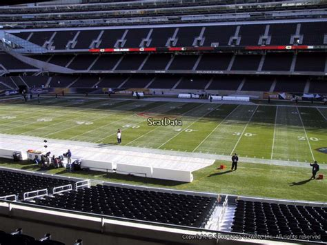 Soldier Field Media Deck by Soldier Field Section 234 Chicago Bears Rateyourseats