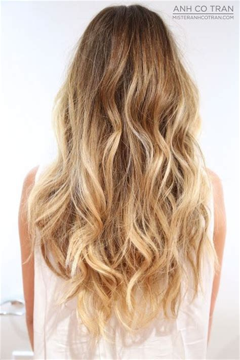 unbrad hair color dramatic beachy waves hair makeup pinterest wavy