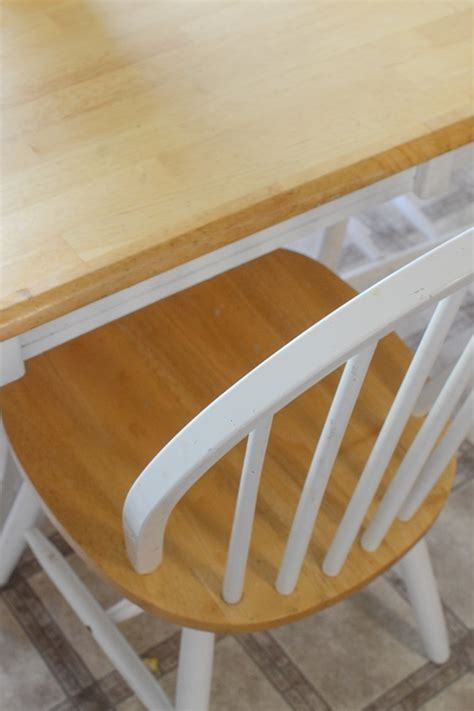 butcher block table and chairs butcher block table and chairs farmhouse style makeover