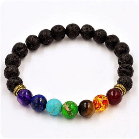 Bead Bracelet 7 chakra bracelet cool gear spot