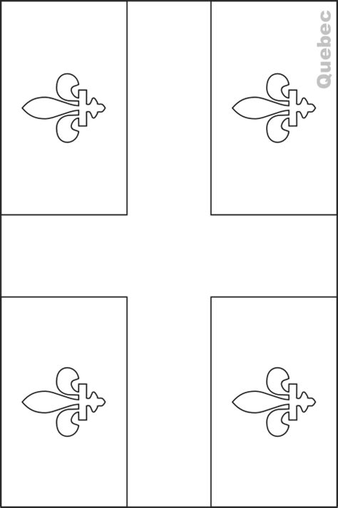 coloring pages quebec colouring book of flags canada