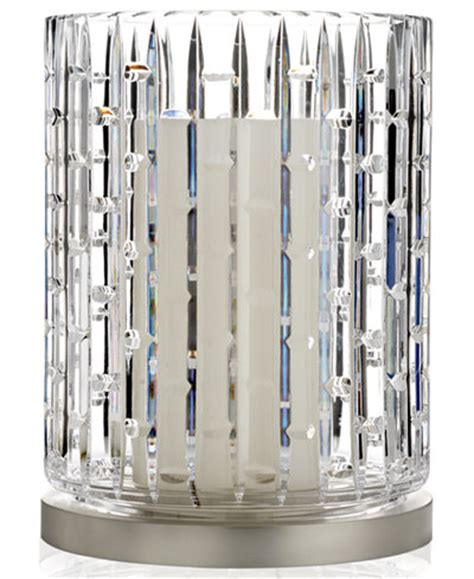 waterford hurricane candle l waterford candle holder illuminology luma hurricane with