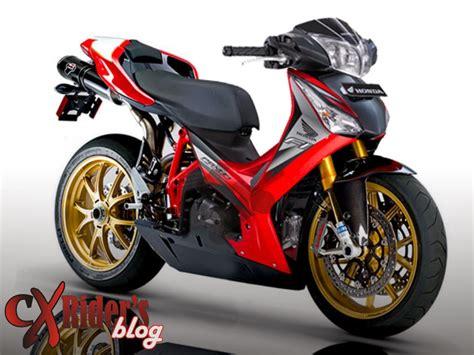 Gambar Motor Supra Modifikasi by Gambar Gambar Modifikasi Motor Supra X 125 Terbaru Paling