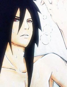 naruto madara hot madara uchiha in suit and tie looking to the side in red