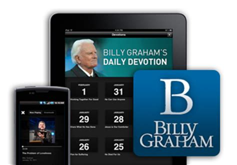 Billy Graham Sermon Outlines by Mobile App