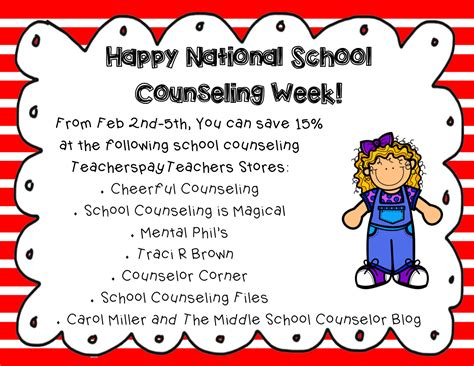 school counselor week cheerful counseling nscw2015 happy national school