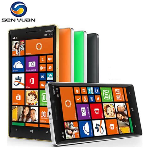 Nokia Lumia Octacore original nokia lumia 930 cell phone 2gb ram 32gb rom 20mp 5 quot touch screen 4g lte