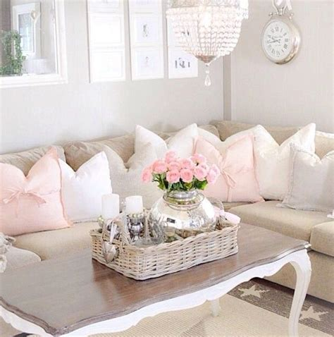 chic home interiors 37 enchanted shabby chic living room designs digsdigs