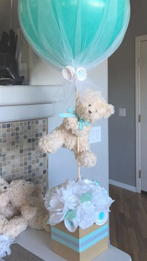 baby shower table decorations for boy baby shower